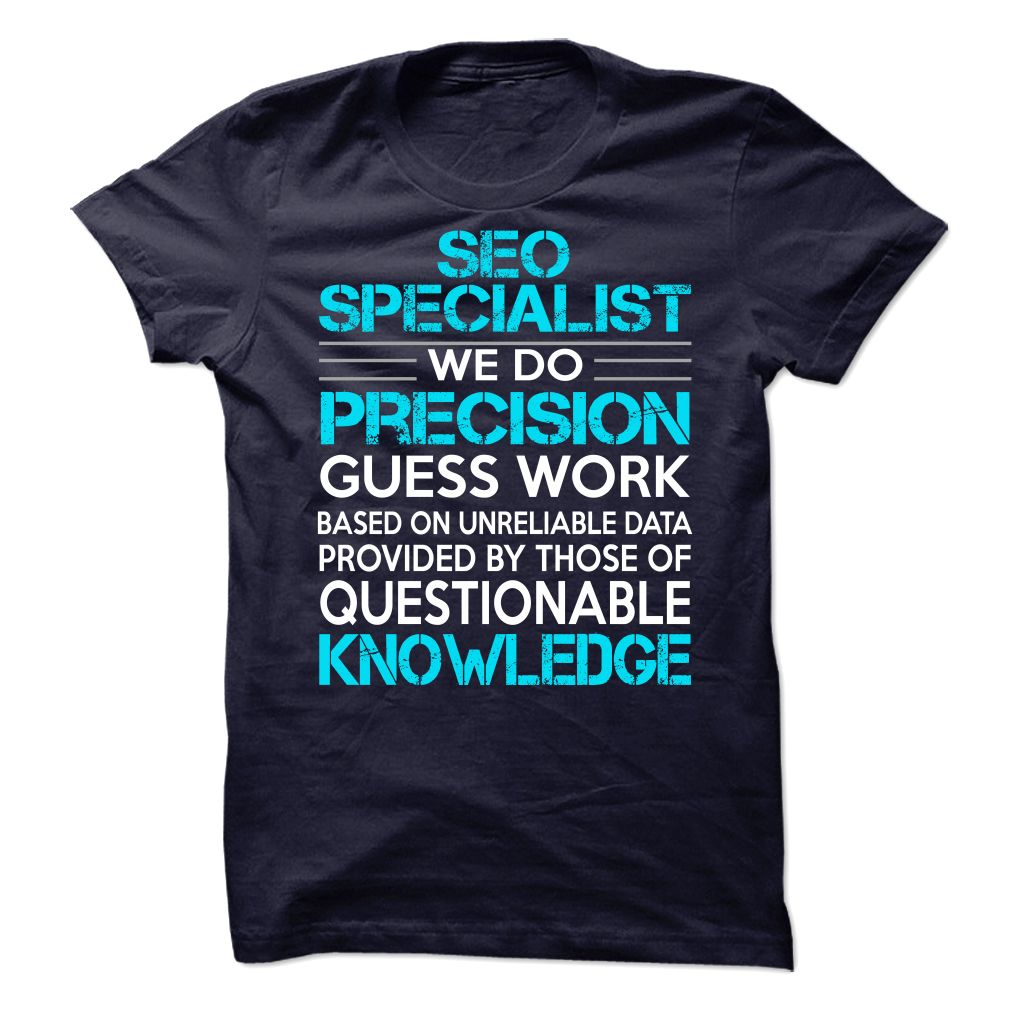 Awesome Shirt For Seo Specialist