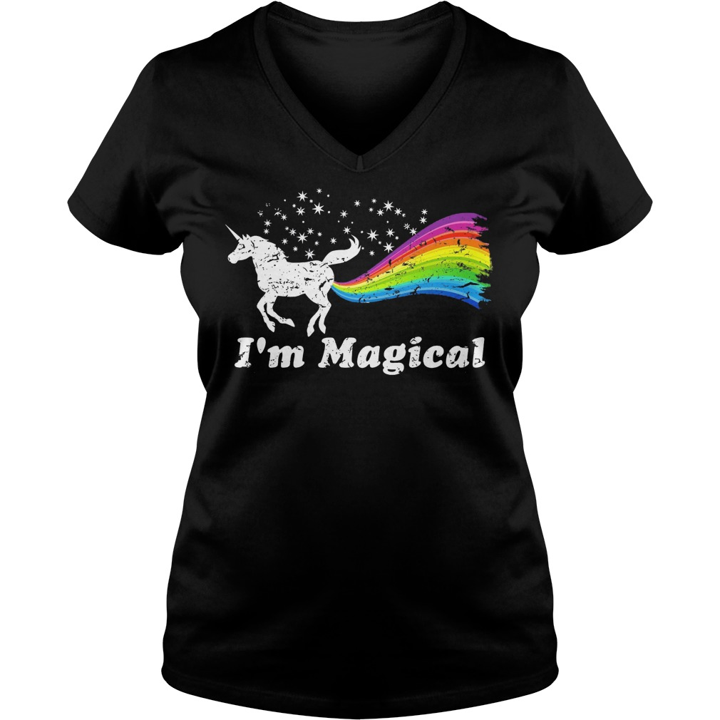 I'm Magical Farting Rainbow Unicorn shirt | ddteeshirt.com