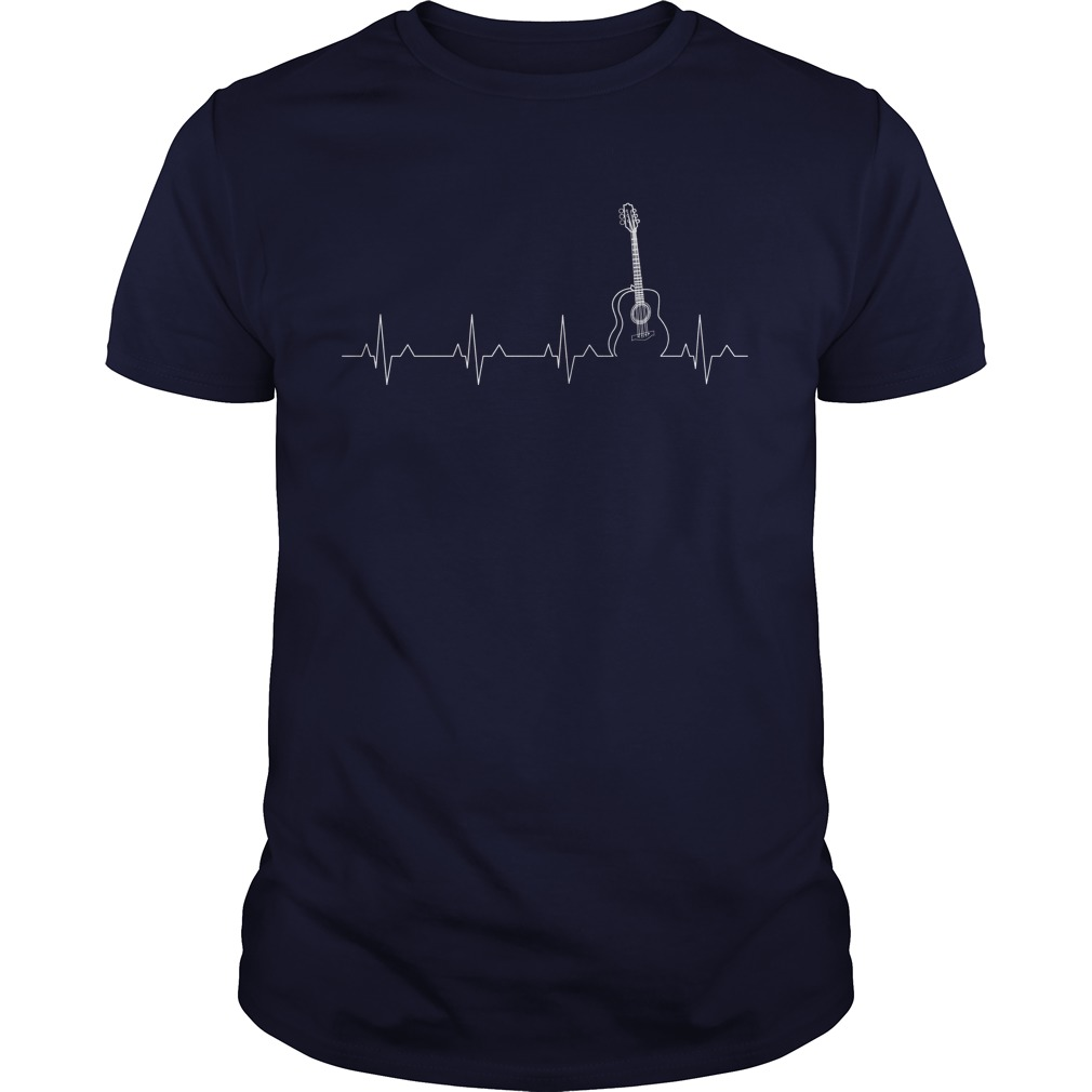 Guitar Heartbeat guys Shirt