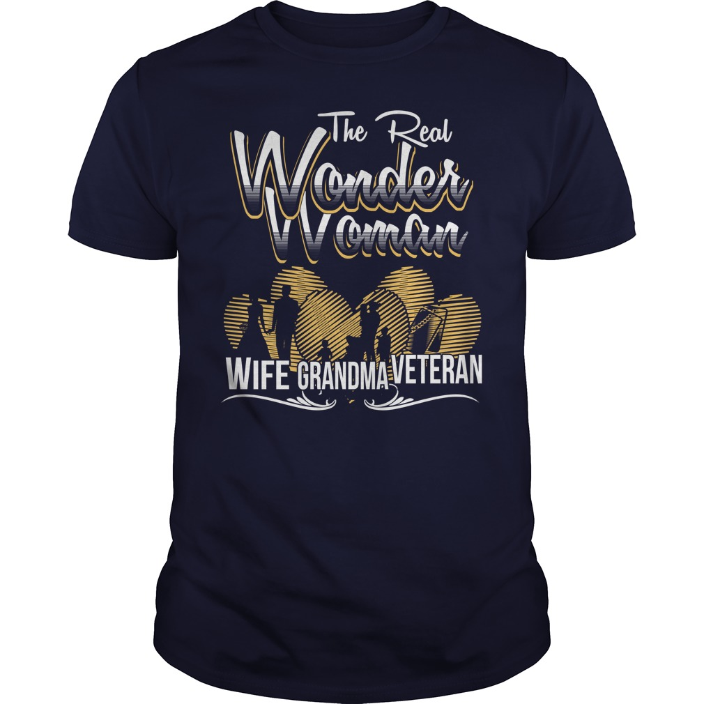 The real wonder woman veteran guys shirt