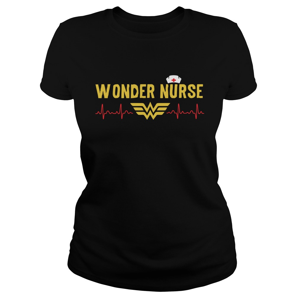 Wonder Nurse 2017 ladies tee Shirt