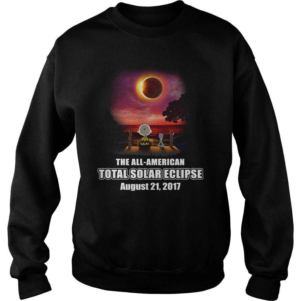 The all American total solar eclipse august 21 2017 sweatshirt