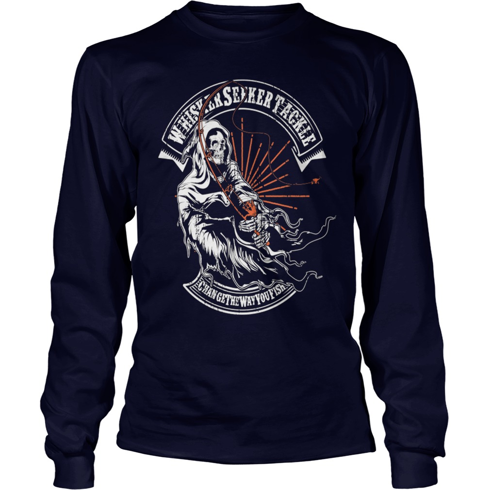 Awesome Fishing The Dead longsleeve tee