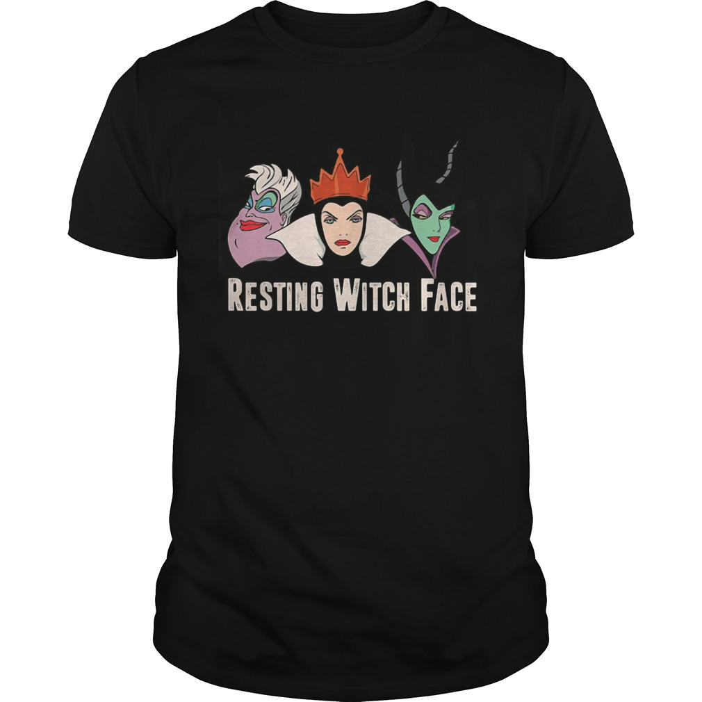 2017 Disney Resting witch face guys tee