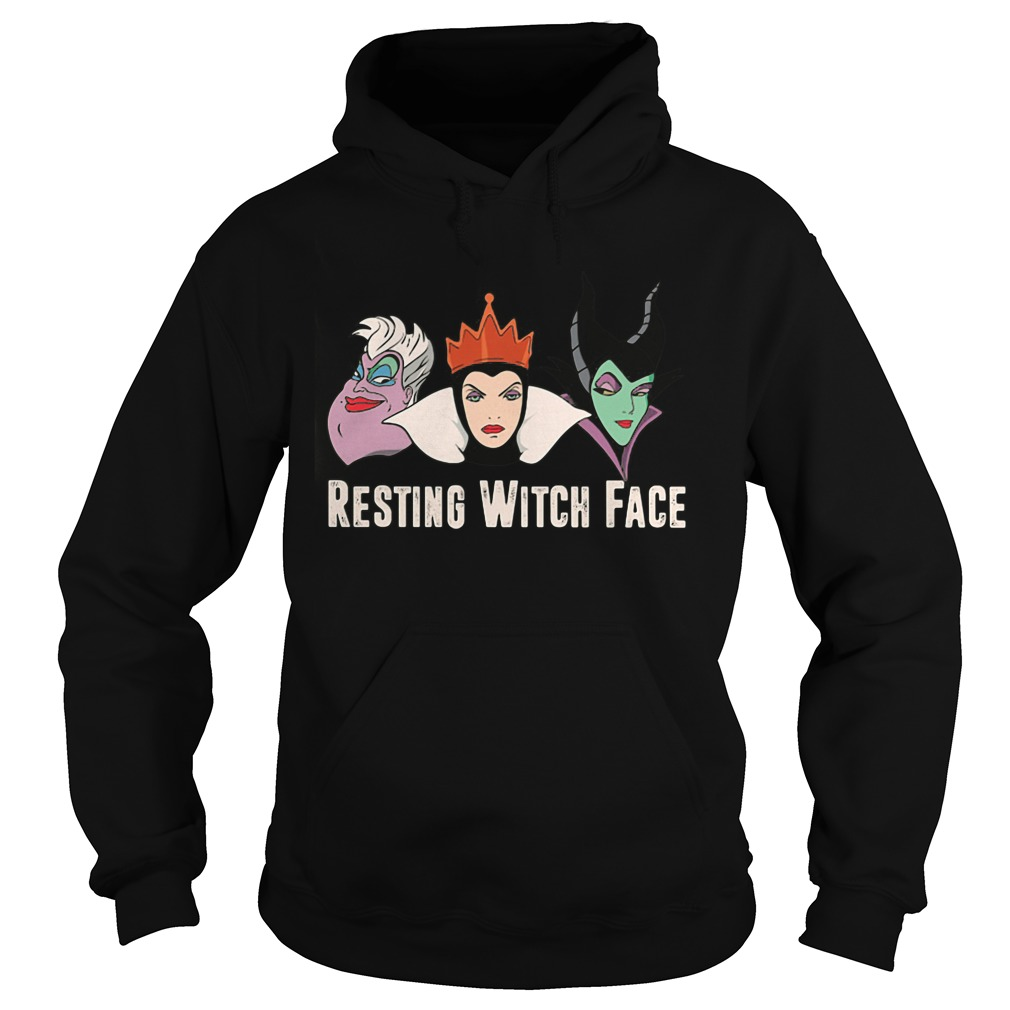 2017 Disney Resting witch face hoodie