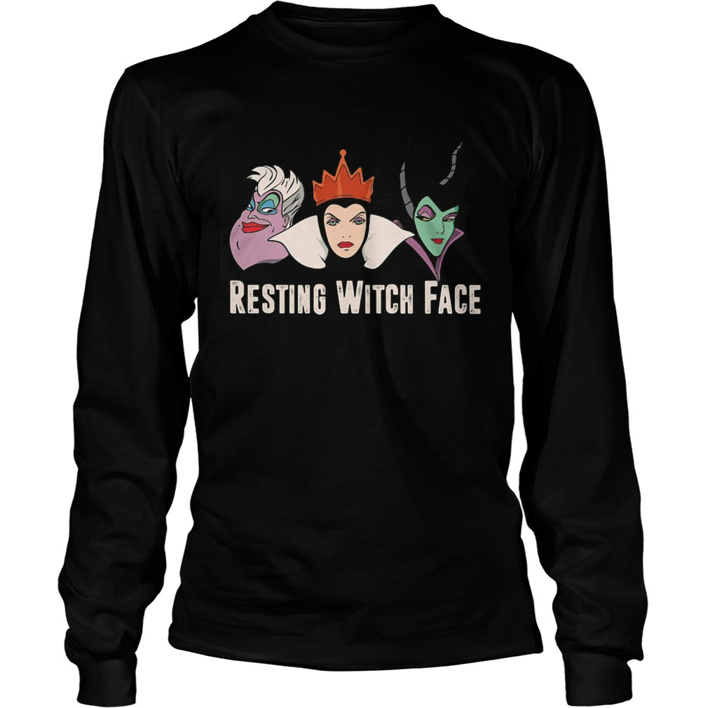 2017 Disney Resting witch face longsleeve tee