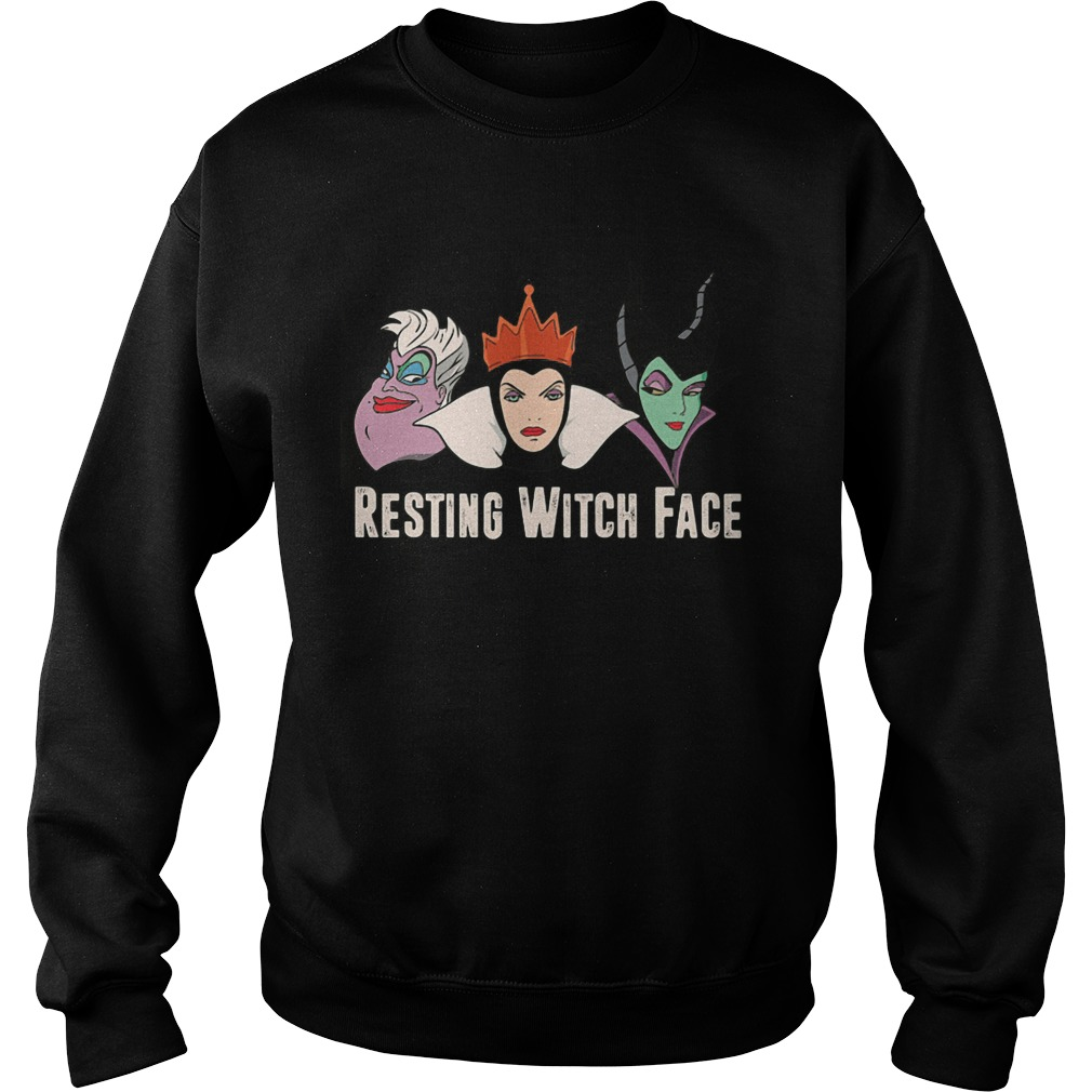 2017 Disney Resting witch face sweat shirt