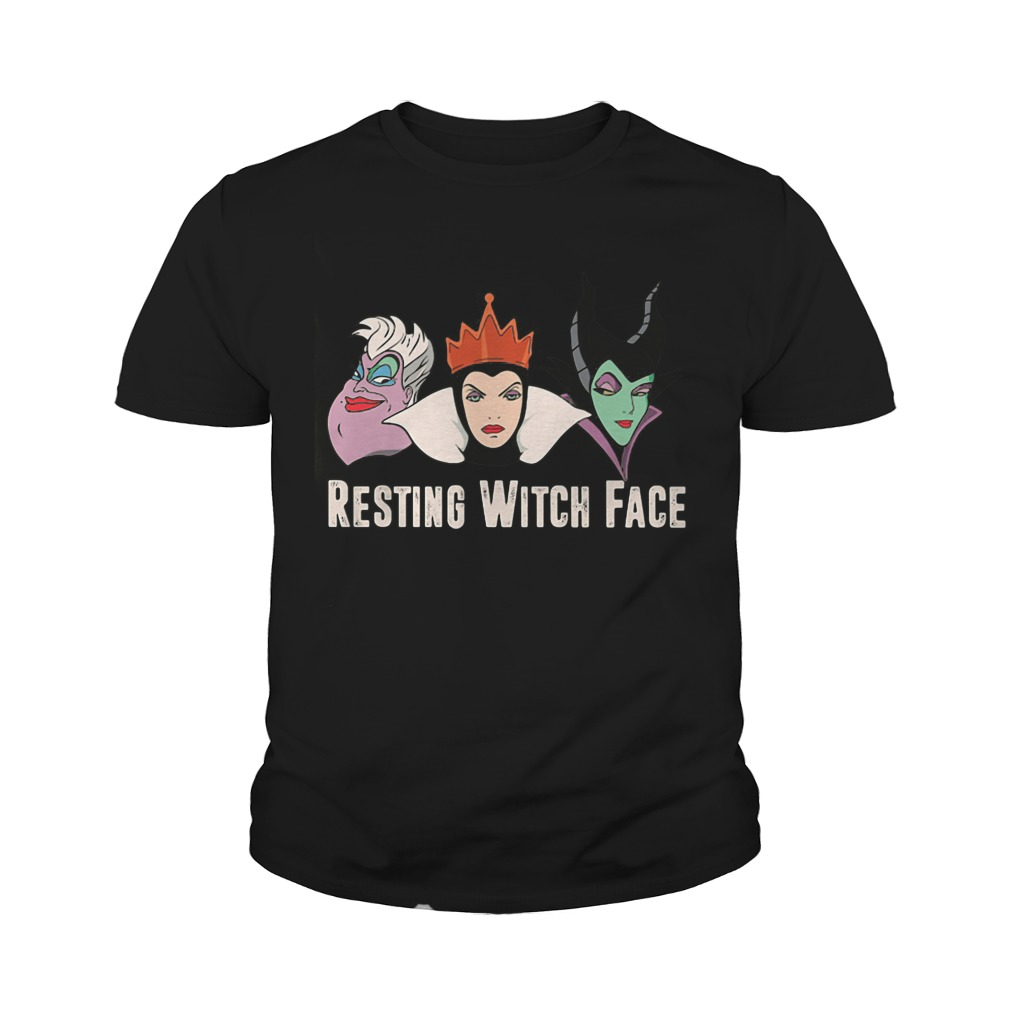 2017 Disney Resting witch face youth tee