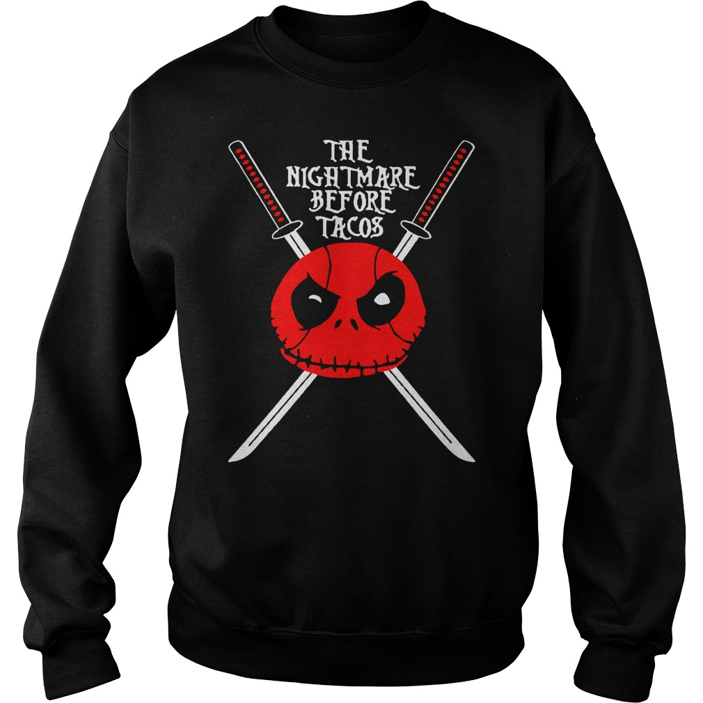 The Nightmare Before Christmas Tacos Sweater and Hoodie