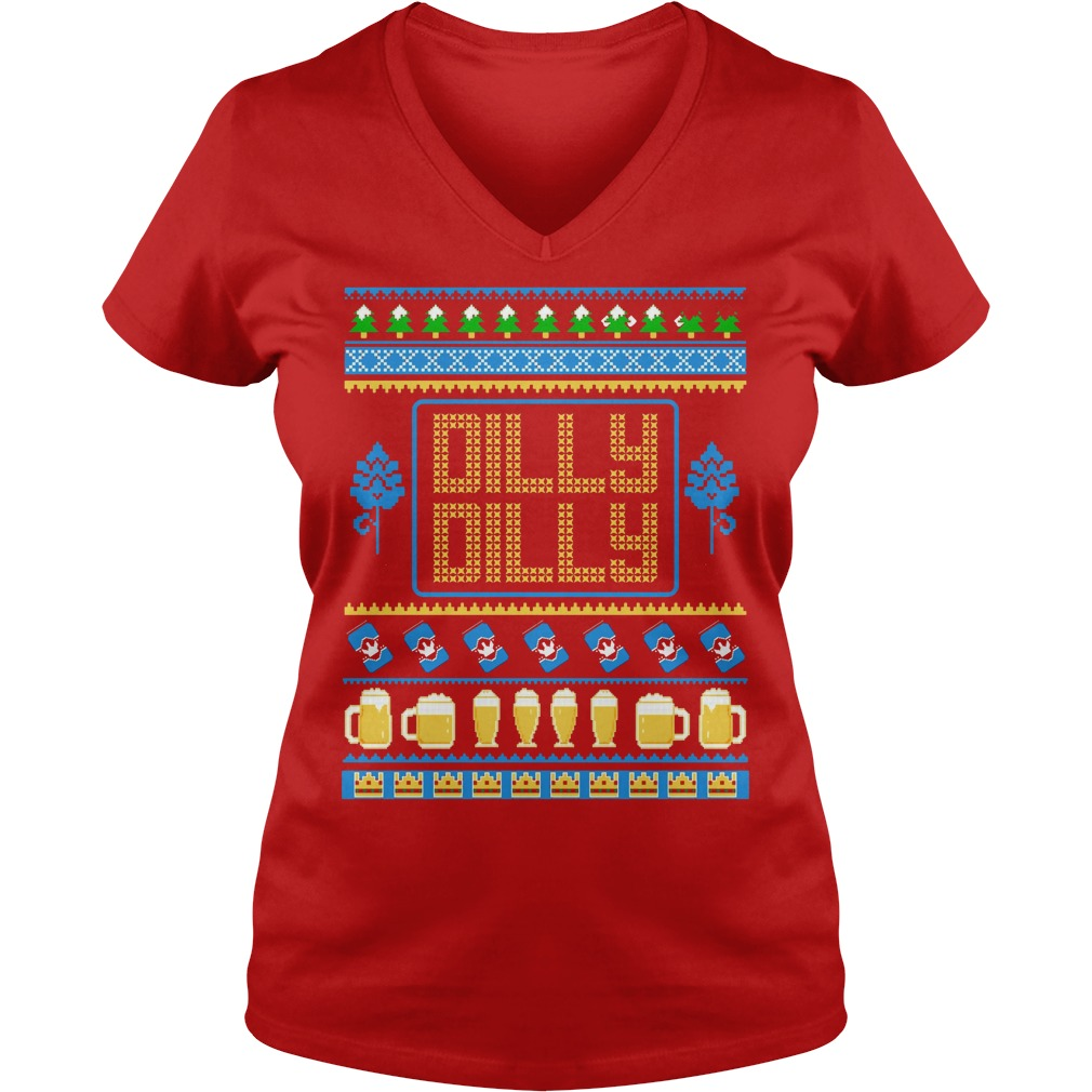 tank top dilly dilly beer ugly christmas ladies v neck