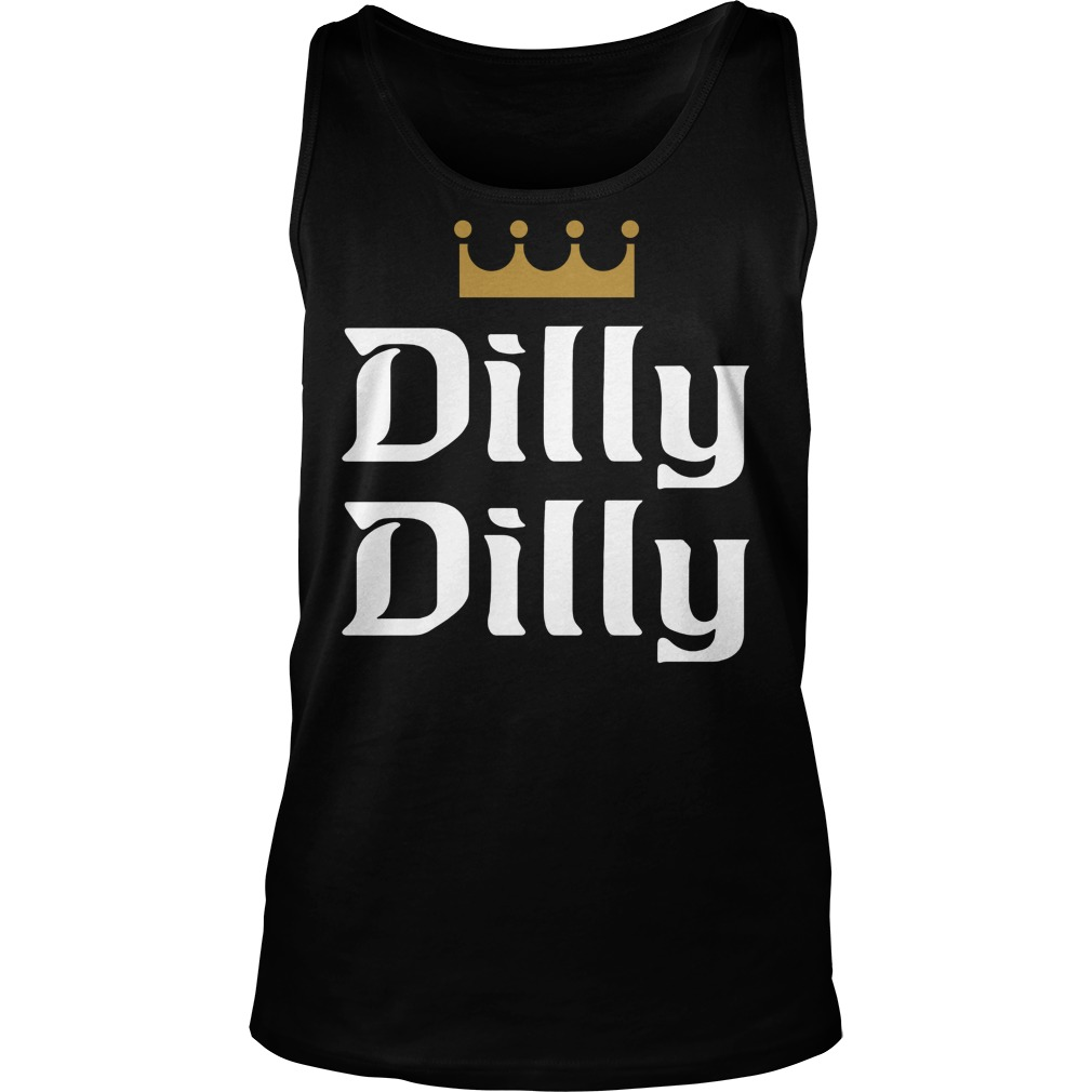 Official dilly dilly tank top