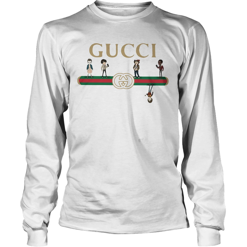 Gucci stranger things upside down longsleeve tee