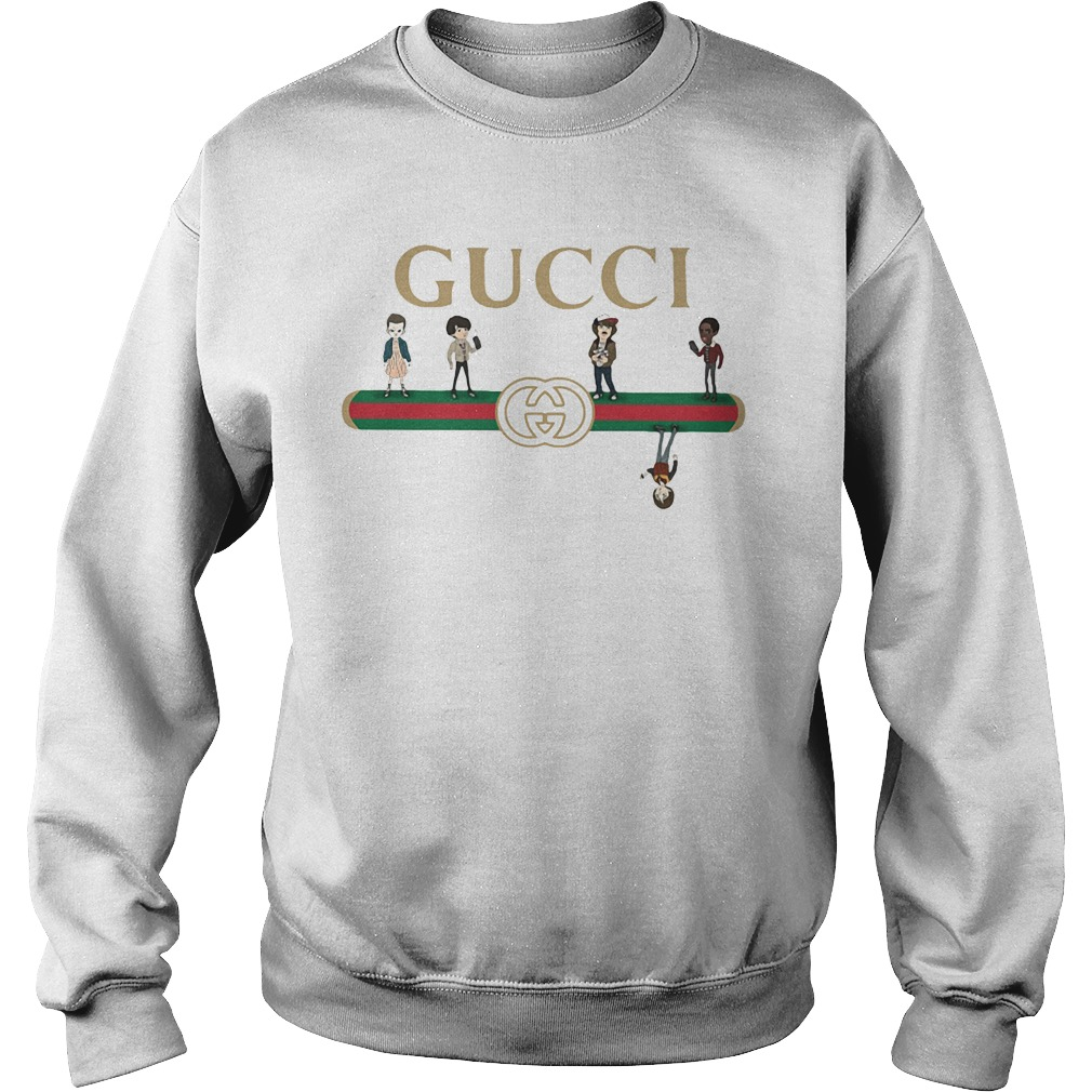 Gucci stranger things upside down sweat shirt