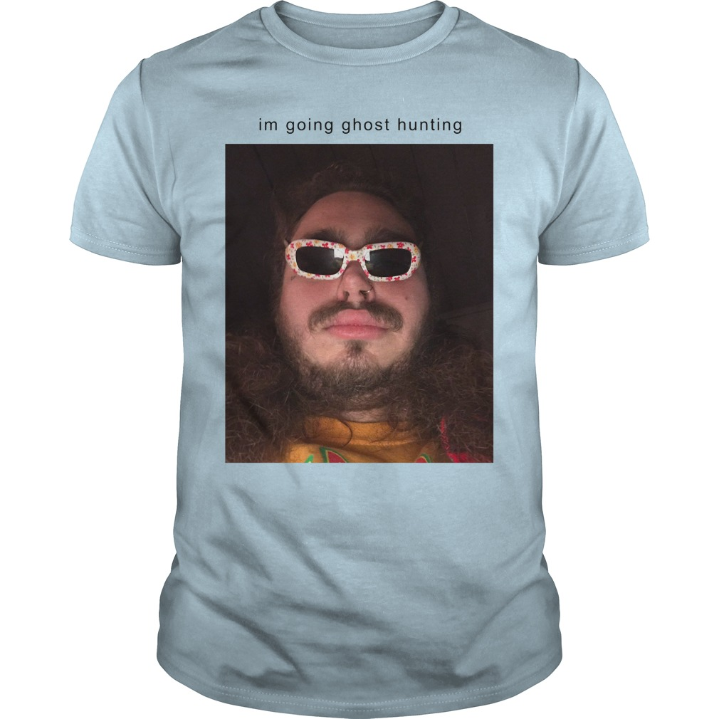 Post Malone I'm Going Ghost Hunting Shirt, Hoodie, Tank