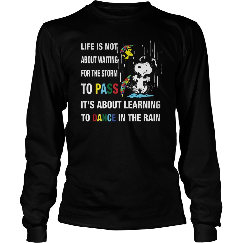 Dance In The Rain longsleeve shirt