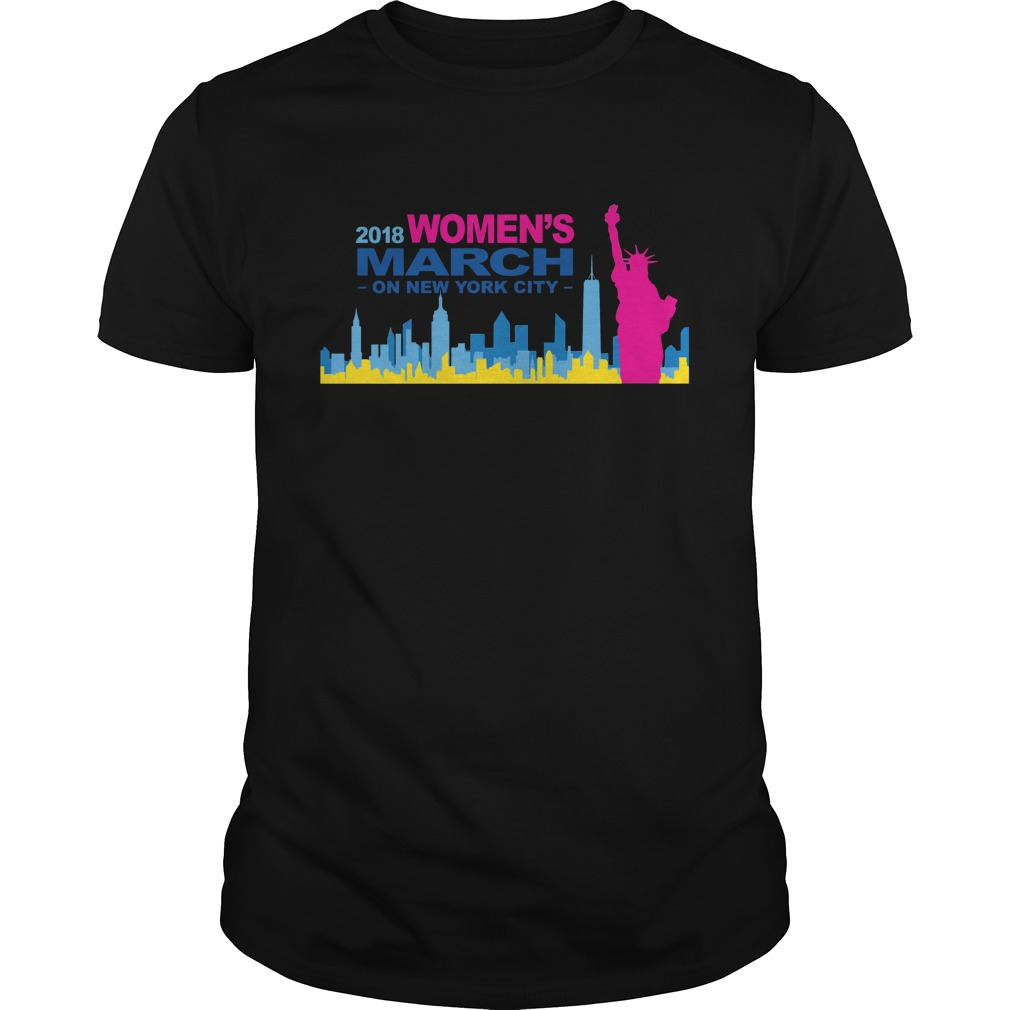 Official 2018 Womens March on New York city guys shirt