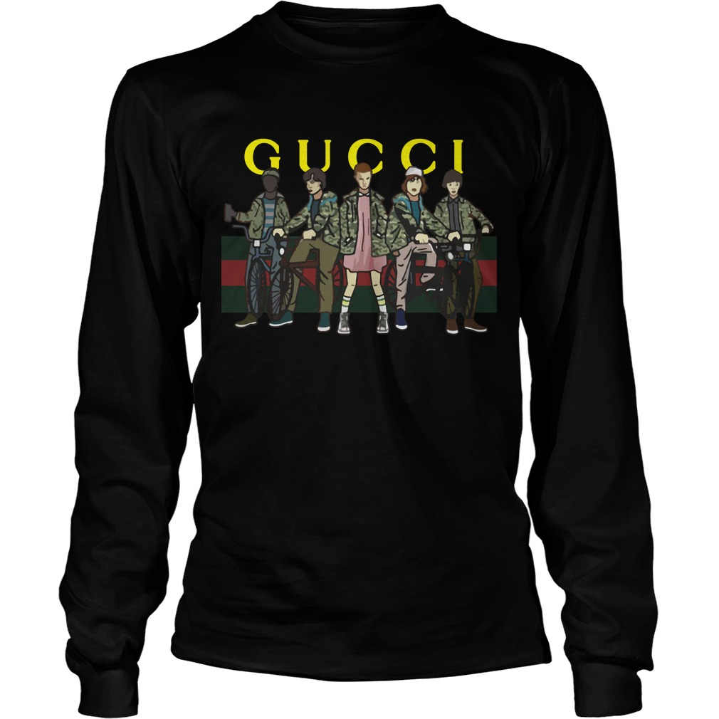 1fa63864767 Official Gucci Stranger Things longsleeve shirt