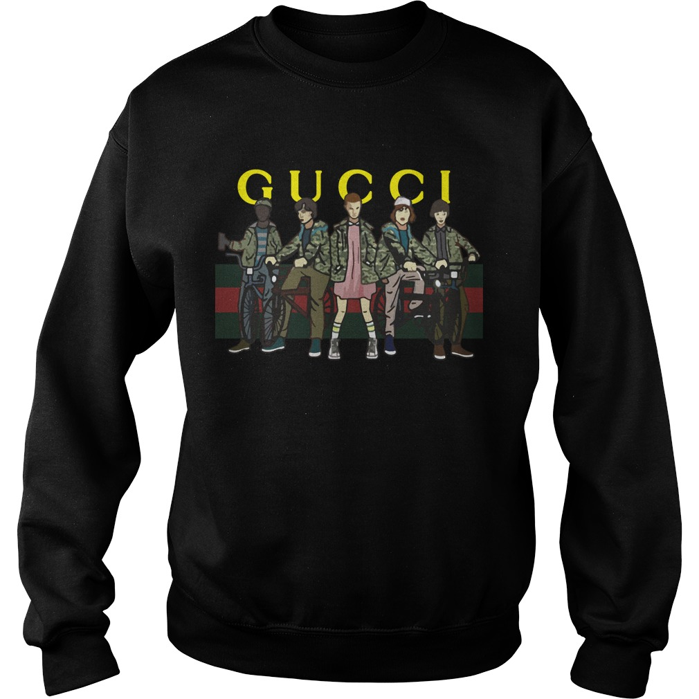 Official Gucci Stranger Things sweat shirt