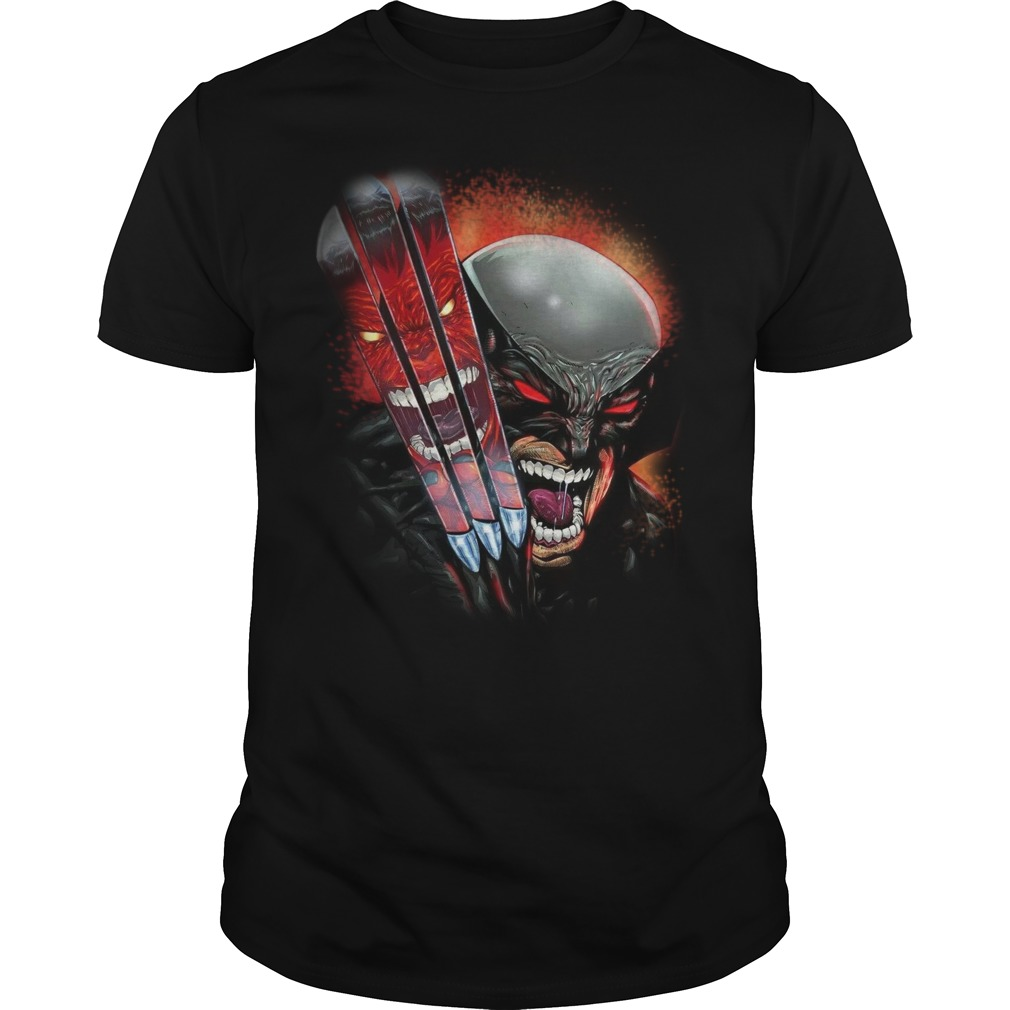 One Day Left Wolverine guys shirt