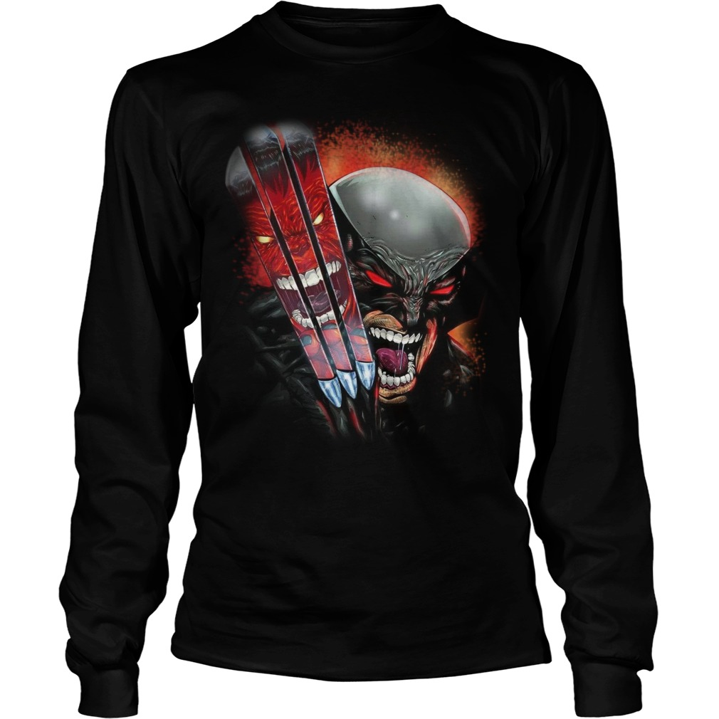 One Day Left Wolverine longsleeve shirt
