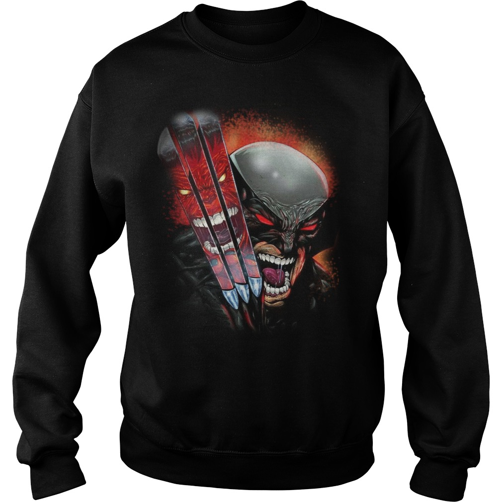 One Day Left Wolverine sweat shirt