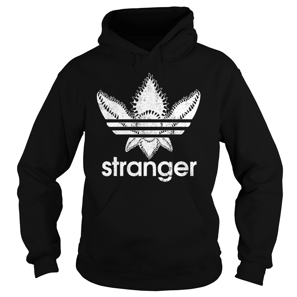 Official Stranger Things-Adidas Demogorgon hoodie