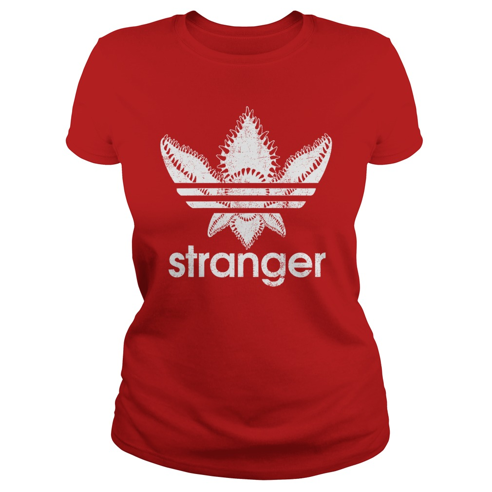 Official Stranger Things-Adidas Demogorgon ladies shirt