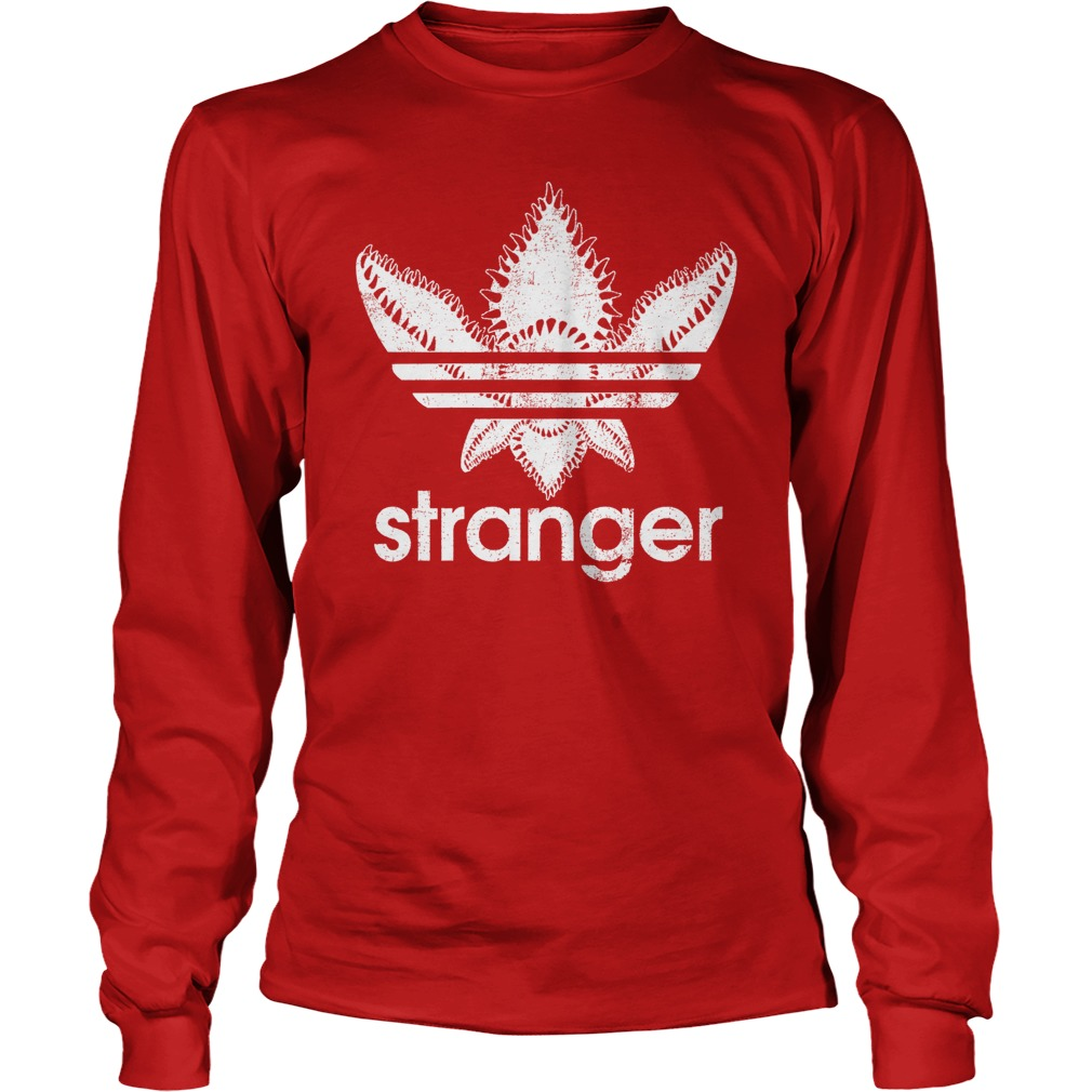 Official Stranger Things-Adidas Demogorgon longsleeve shirt