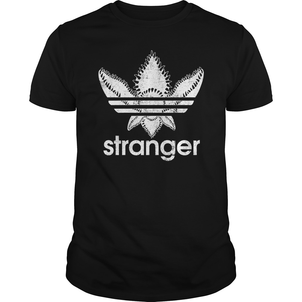 Official Stranger Things-Adidas Demogorgon guys shirt