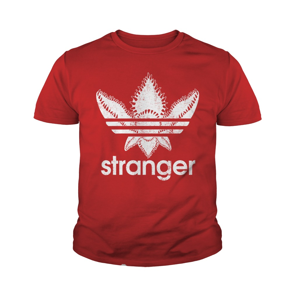 Official Stranger Things-Adidas Demogorgon youth shirt