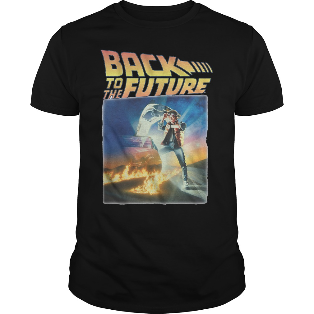 Marty McFly back to the future guys shirt