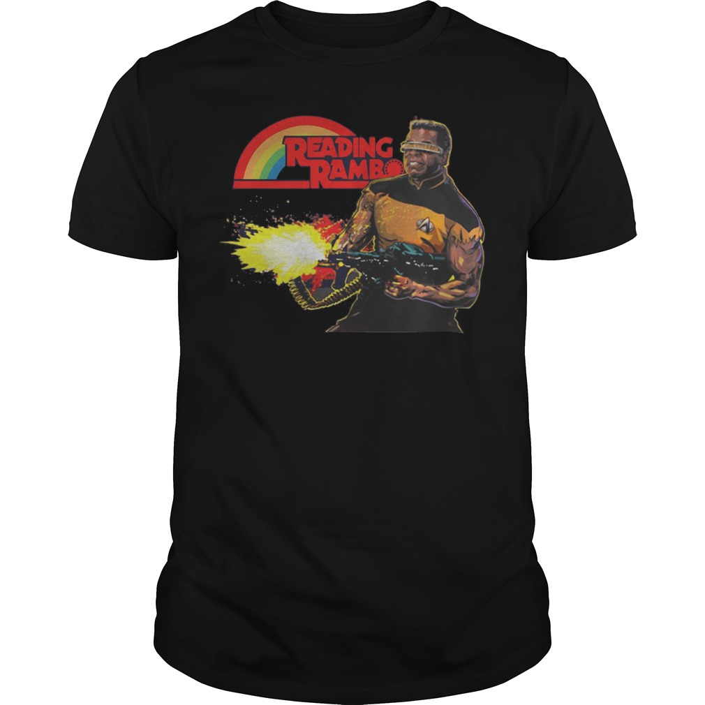 Reading Rambo shirt