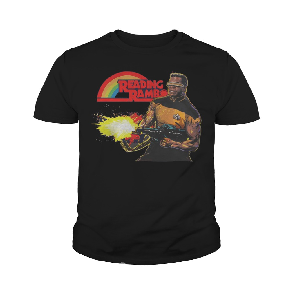 Reading Rambo youth tee