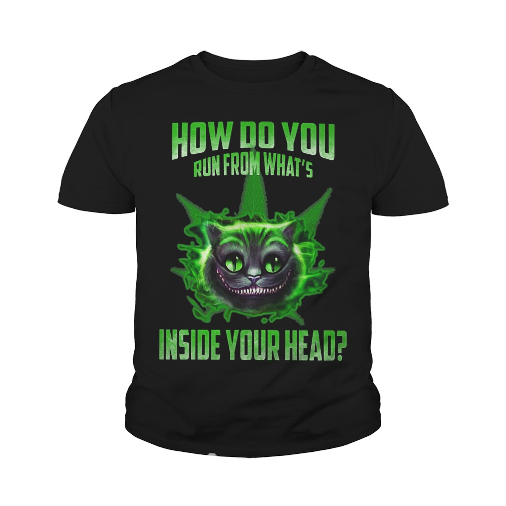 How do you run from what's inside your head youth tee