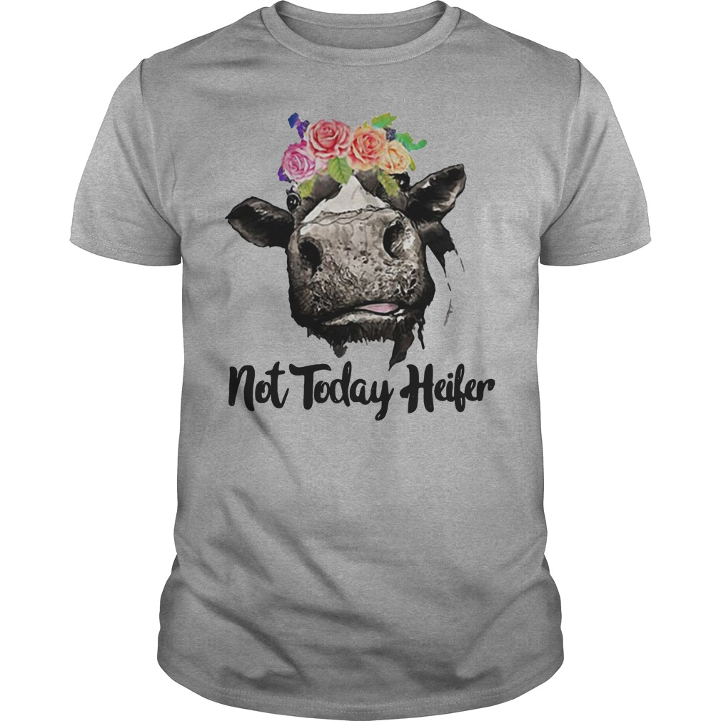 13cabea5 Heifer not today shirt, hoodie, sweater, youth tee and v-neck t-shirt