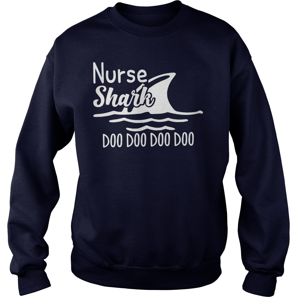 Funny Nurse Shark Doo Doo Doo Sweater