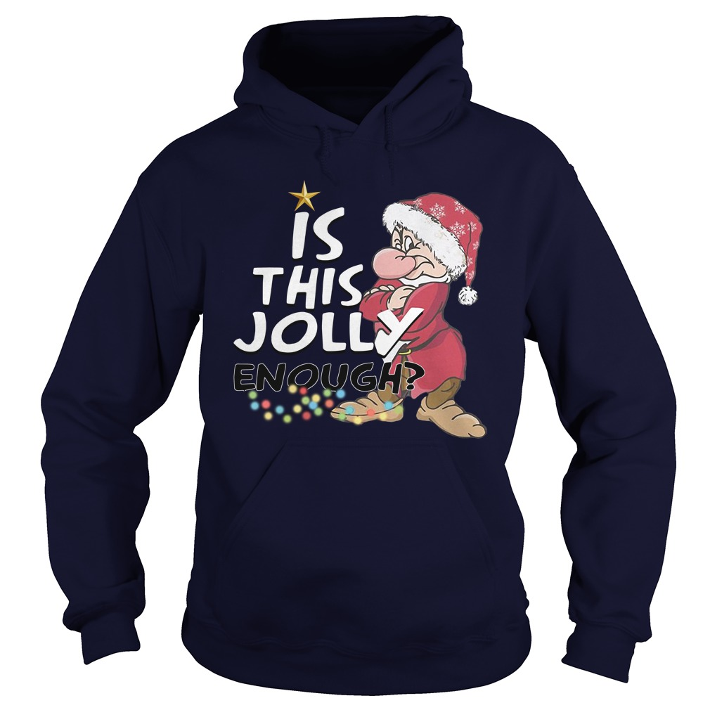 Official Is This Jolly Enough  Hoodie