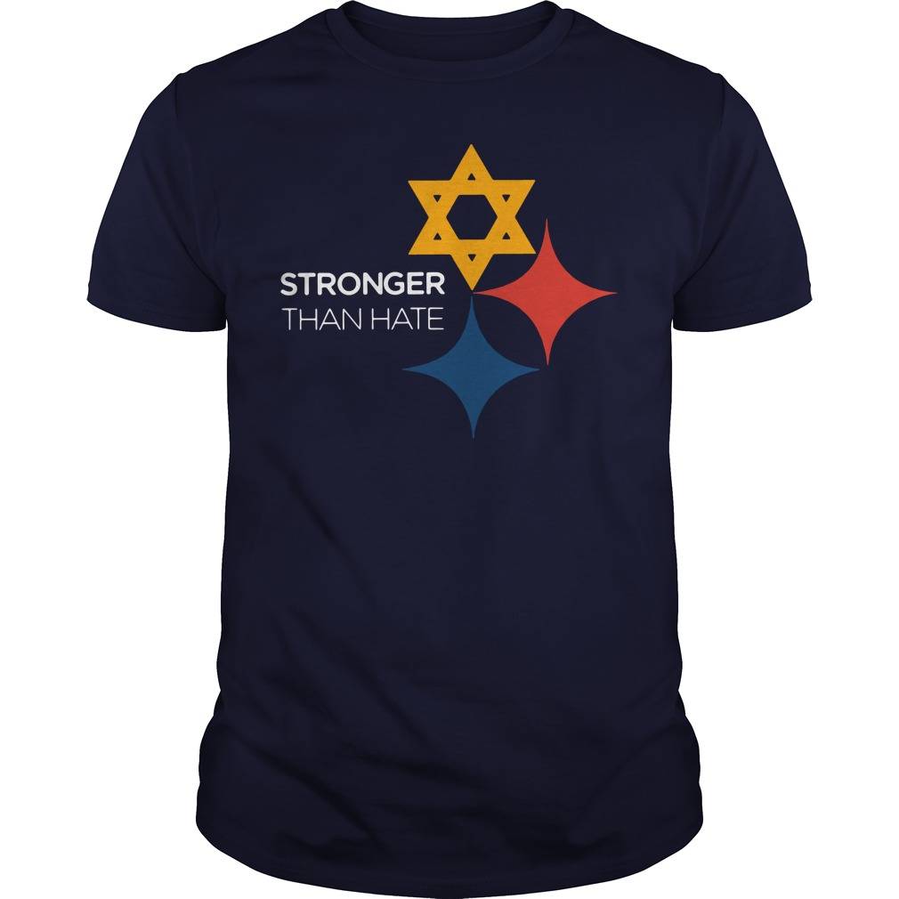 Official Pittsburgh Penguins Stronger Than Hate Guys shirt