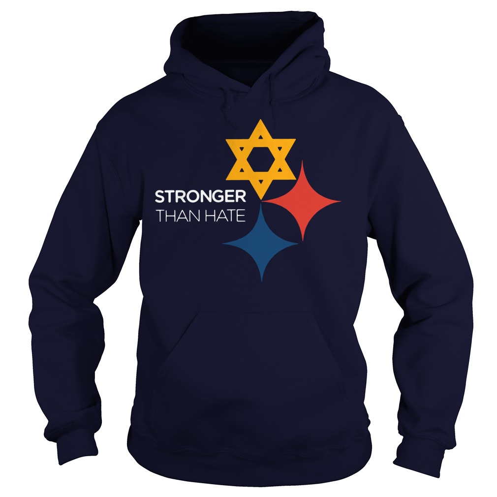 Official Pittsburgh Penguins Stronger Than Hate Hoodie