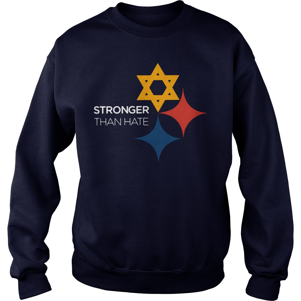 Official Pittsburgh Penguins Stronger Than Hate Sweater
