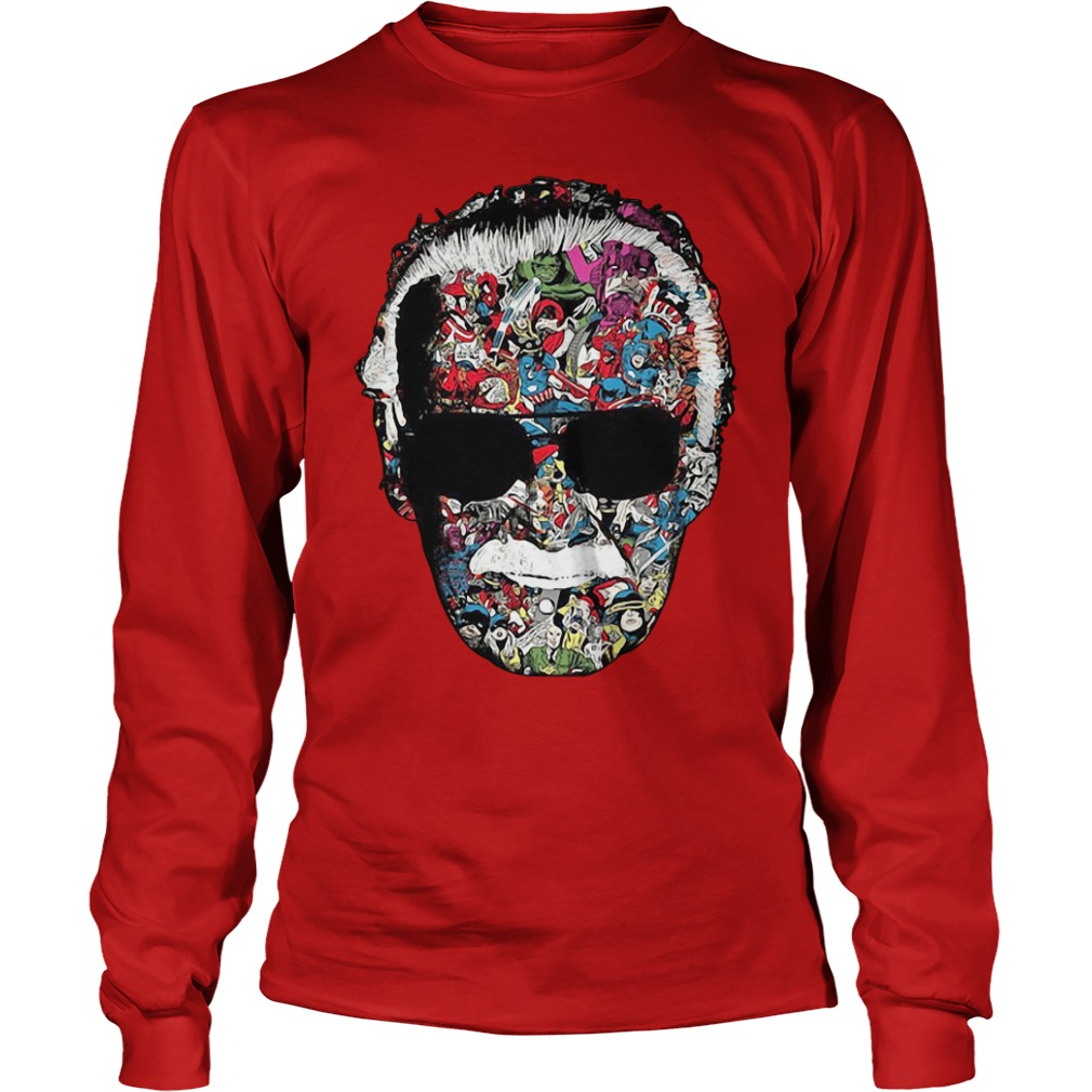 Stan Lee Marvel Universe Comic book Longsleeve shirt