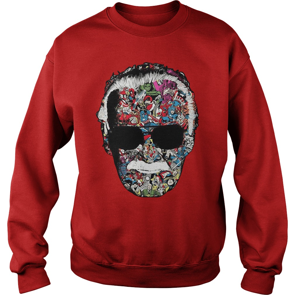 Stan Lee Marvel Universe Comic book Sweater