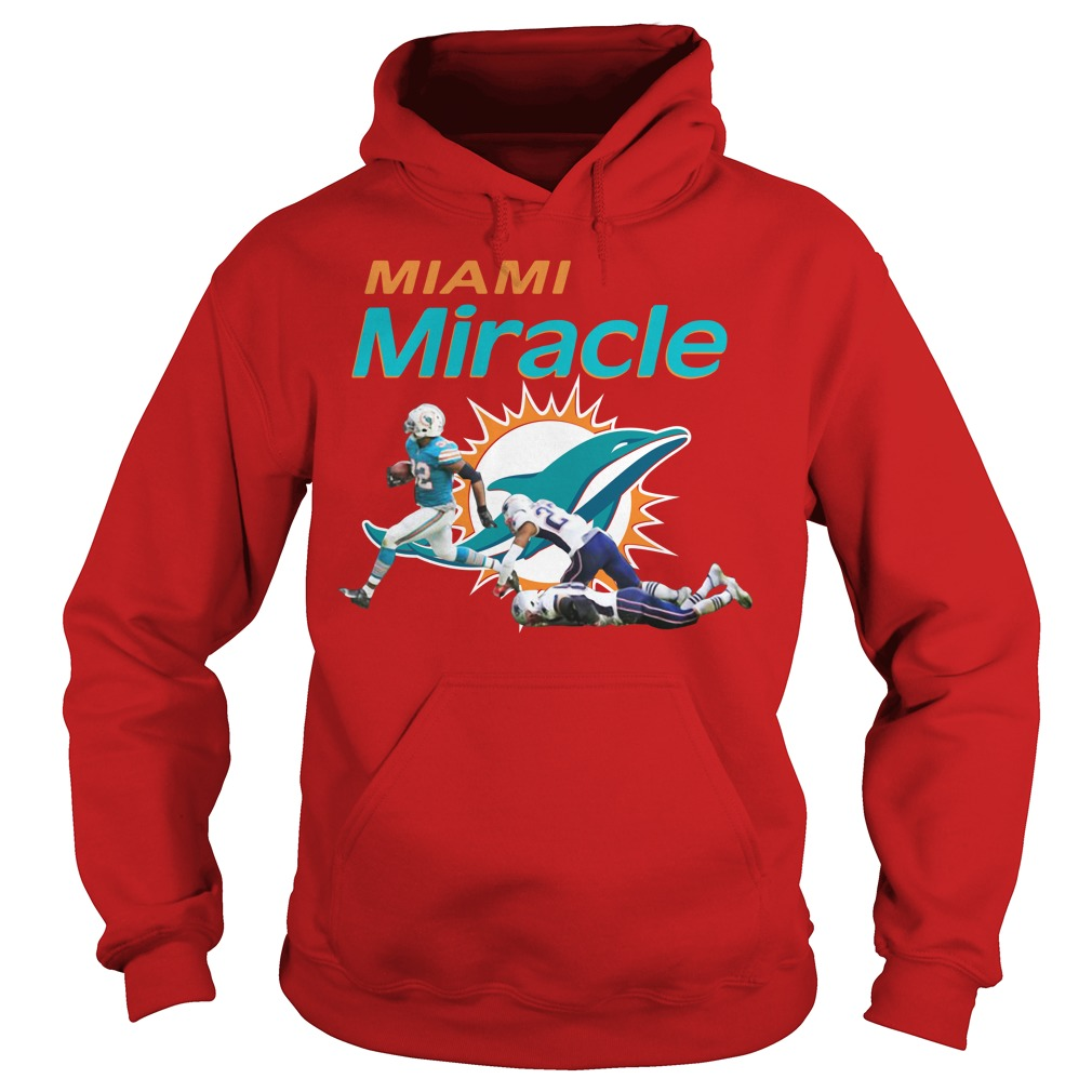 The Miami Miracle Kenyan Drake Beats The Patriots Hoodie