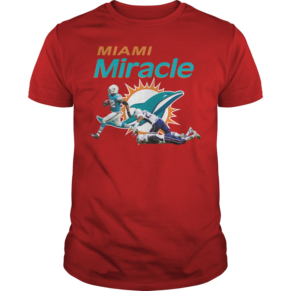 The Miami Miracle Kenyan Drake Beats The Patriots Shirt