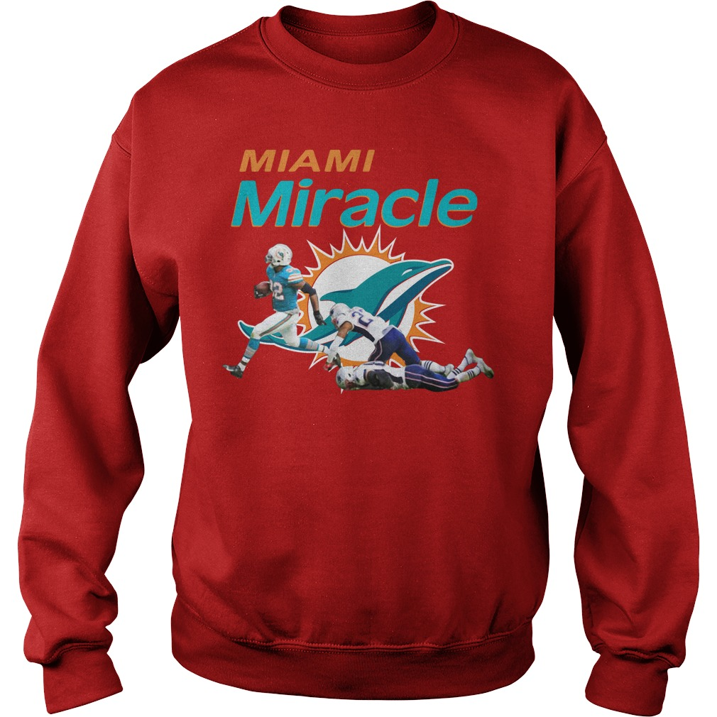 The Miami Miracle Kenyan Drake Beats The Patriots Sweater